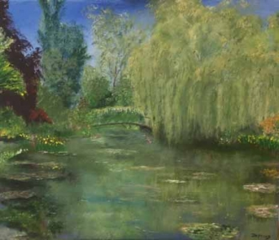 Willow, Giverny